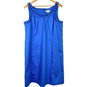 LOFT The Perfect Summer Dress in Blue